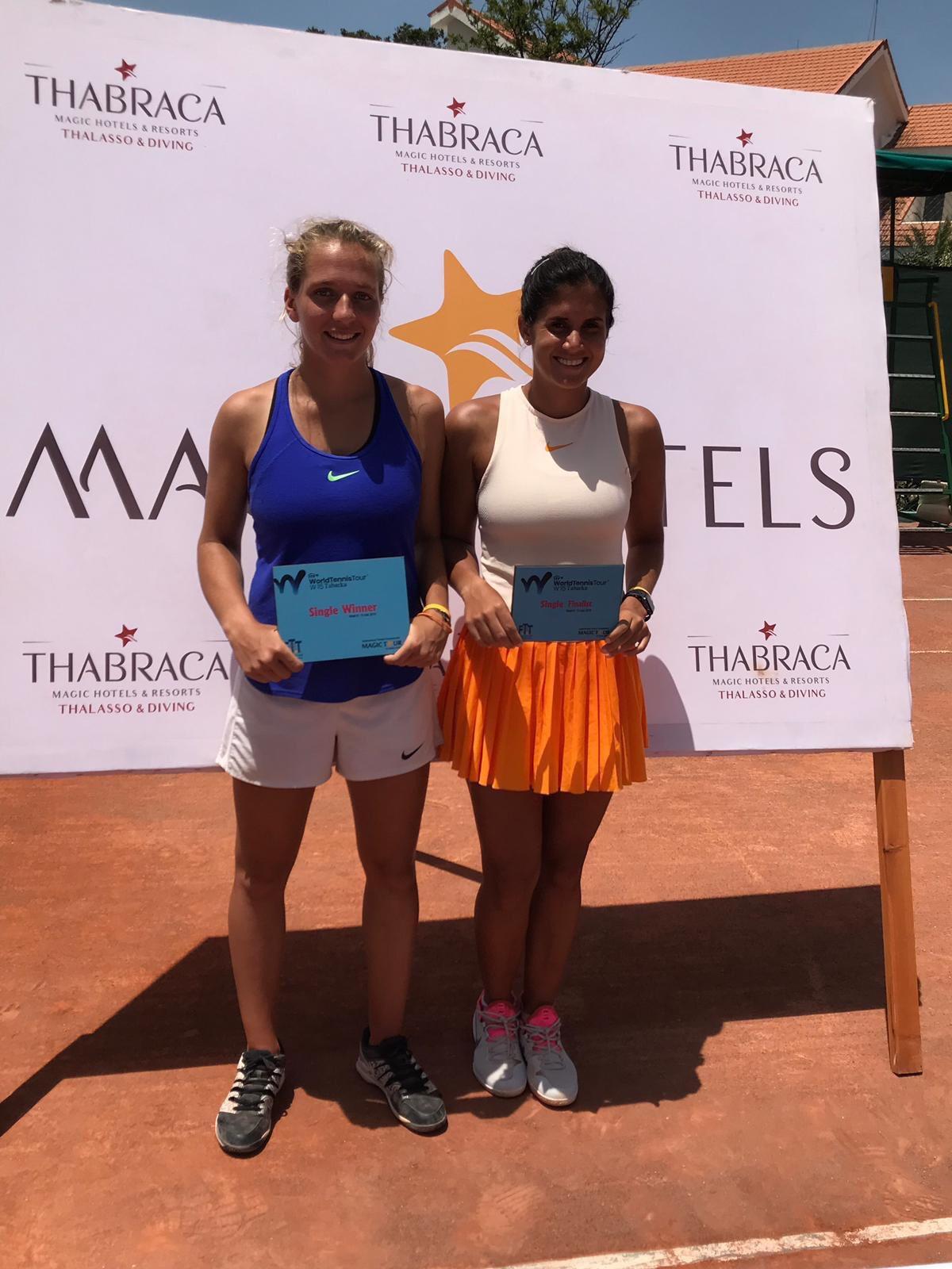 Victoire de Margaux Rouvroy au tournoi 15.000$ de Tabarka (Tunisie)